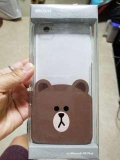 iPhone 6+/ 6S+ 熊大(Brown) 手機硬殼