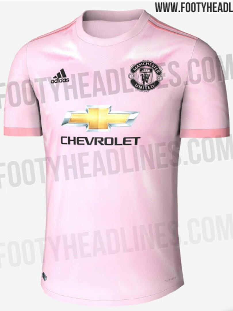 detailed look 0b281 fa2a1 2018/19 Manchester United Home Away 3rd kit jersey, Sports ...