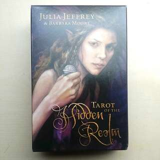 [SALE] Tarot Of The Hidden Realm Card Box Set, 78 Cards + Complete Paperback Guide, Divination, Fortune Telling, SEALED Cards