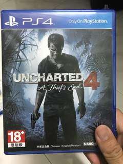 Uncharted 4 and Life is strange