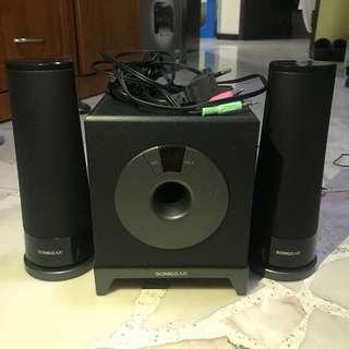 Computer speaker 2.1ch