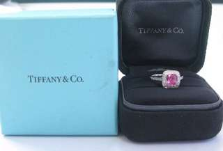 Tiffany & Co Pink Sapphire Ring