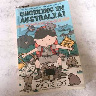 """""""quokking in australia! : the travel diary of amos lee"""" by adeline foo"""