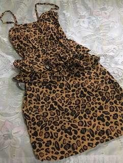 Leopard Buster Dress