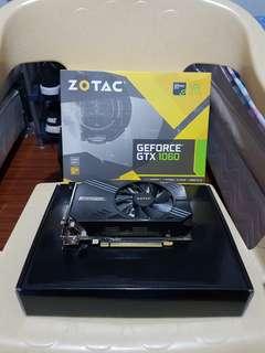 Zotac GTX 1060 6GB Mini (Gaming GPU)
