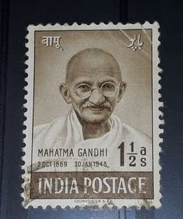India stamps used
