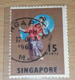 Singapore stamps 1965