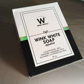 Wink White Whitening Soap