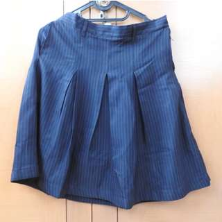 Dark Blue Skirt / Rok Wanita