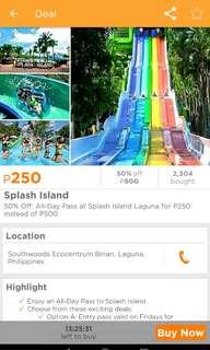 Splash Island Entrance