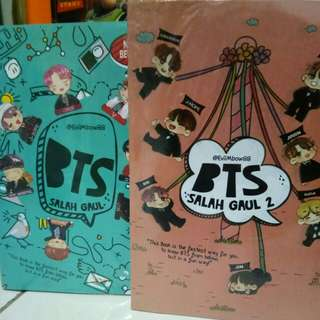 Paketan Novel Salah Gaul 1 & 2