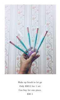 Mermaid Eye Brushes