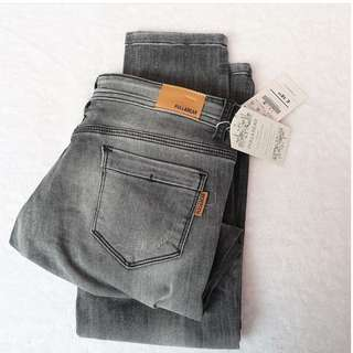 P&B GREY JEANS RIPPED
