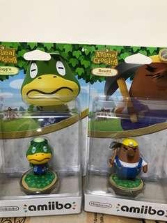 Nintendo Amiibo公仔 動物之森 祭典模型手辦 地鼠先生