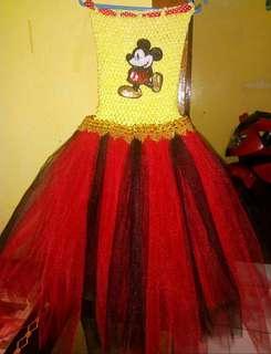 Mickey Mouse tutu dress