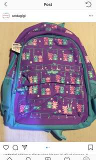 Brand new smiggle junior bubbly backpack