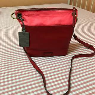 Fossil Keely Crossbody Red Multi