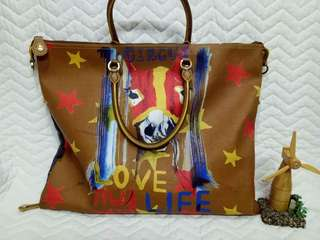 Authentic Brera Tote With Sling