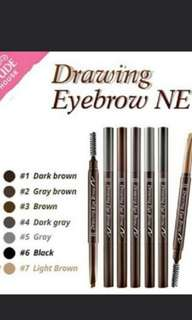 Drawing eye brown