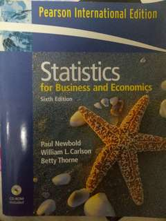 Statistics for business and statistics