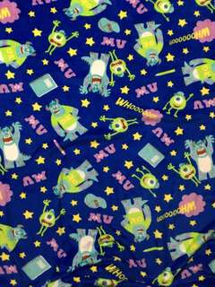 Character Fleece Blanket - Monster Inc