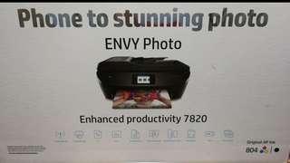 HP 7820 相片&文件多合一打印機