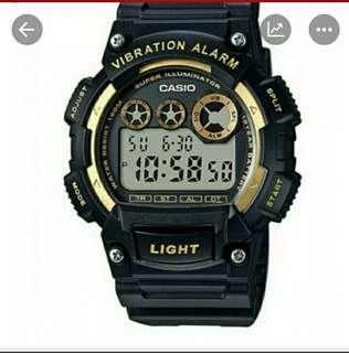 👍👍👍40% Off Brand New Original Casio Water Resistance Resin Watch-6折全新行貨卡西歐防水数字樹膠錶