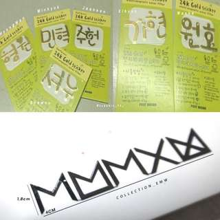 MONSTA X EMW STICKER