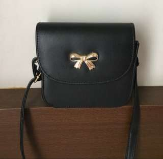 Slingbag Black Ribbon