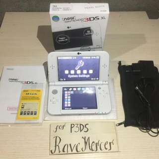 Selling New Nintendo 3DS XL US Pearl White (Fix price, No swap)