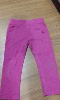 Kikilala 3-4yo girls long pants