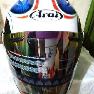 helmet arai greded ram3 design