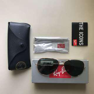 Kacamata / Sunglasses Ray Ban Aviator Original