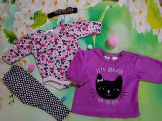 Baby girl casual outfit (set/seperate)