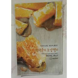 Nature Republic Face Mask Royal Jelly