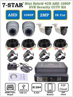 [WHOLESALE CCTV]Full-HD 4/8/16 Channel Hybrid 4CH/8CH/16CH DVR/NVR/XVR + Full-HD 2.0 Megapixel High Performance SONY CMOS 1080P Dome/Bullet Smart Infrared Day & Night (Indoor/Outdoor) Security IR Camera