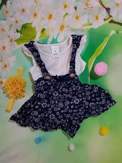 (0-3 months) Baby girl cute jumper *3piece set