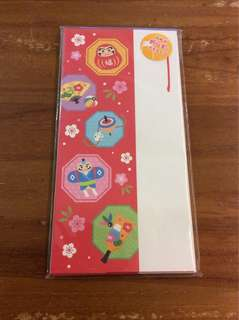 Daiso Japanese envelope angbao made in japan