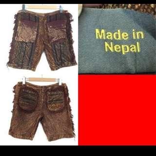 🚚 流蘇造型針織短褲