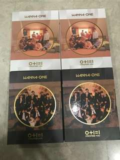 WTS Wanna One Unsealed I Promise You Album w FREE POSTER