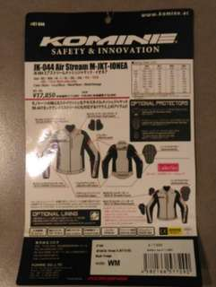 Komine woman jacket ( Quit riding sale )