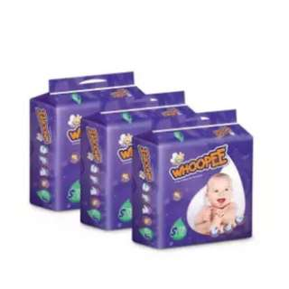 Whoopee Baby Diaper S78 (3 pack)