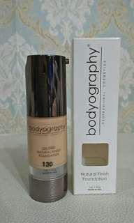 Bodyography - Natural Finish Foundation 130