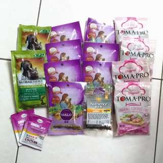 貓乾糧旅行包  試吃包 發育寶