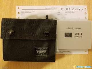 porter toyko smoky wallet 銀包 not headporter