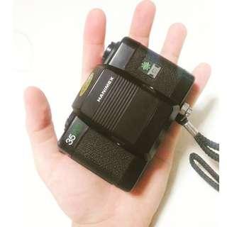 日本帶回 HANIMEX 35 MICRO FLASH 底片 底片機 底片相機 傻瓜相機 二手 街拍