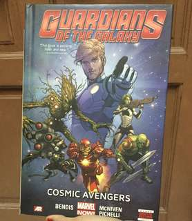 Original Marvel Comic - Guardians Of The Galaxy Cosmic Avengers