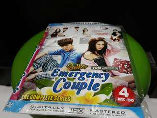 KASET DVD KDRAMA - EMERGENCY COUPLE