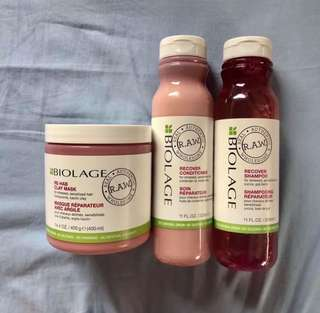 [BUNDLE] Biolage Hair Care Bundle