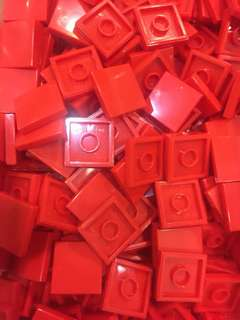🆕 LEGO Red 2x2 Tile